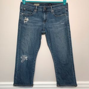 AG The Tomboy Relaxed Straight Crop Jeans Size 31